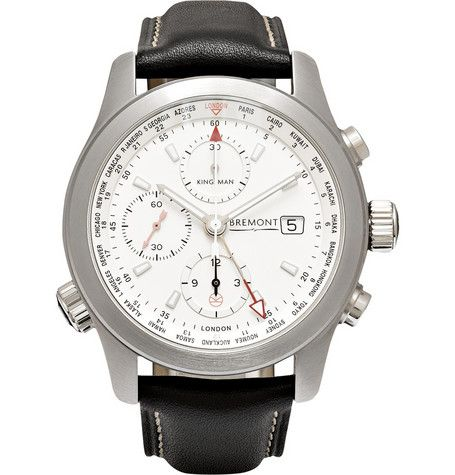 Kingsman Bremont ALT1-WT/WH World Timer Automatic Chronograph Watch   MR PORTER
