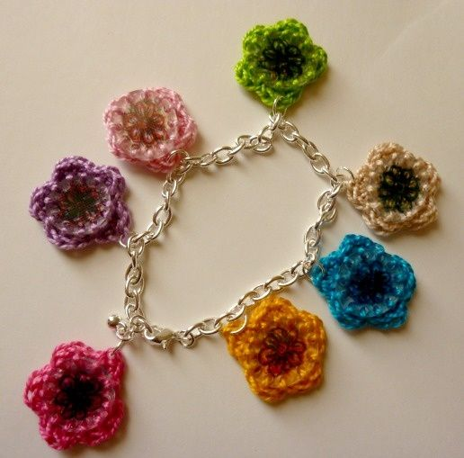 Free+Jewelry+Pattern+recicle | Recycled Number 6 Plastic Shrinky Charm ... | Crocheted Jewelry- Neck ...