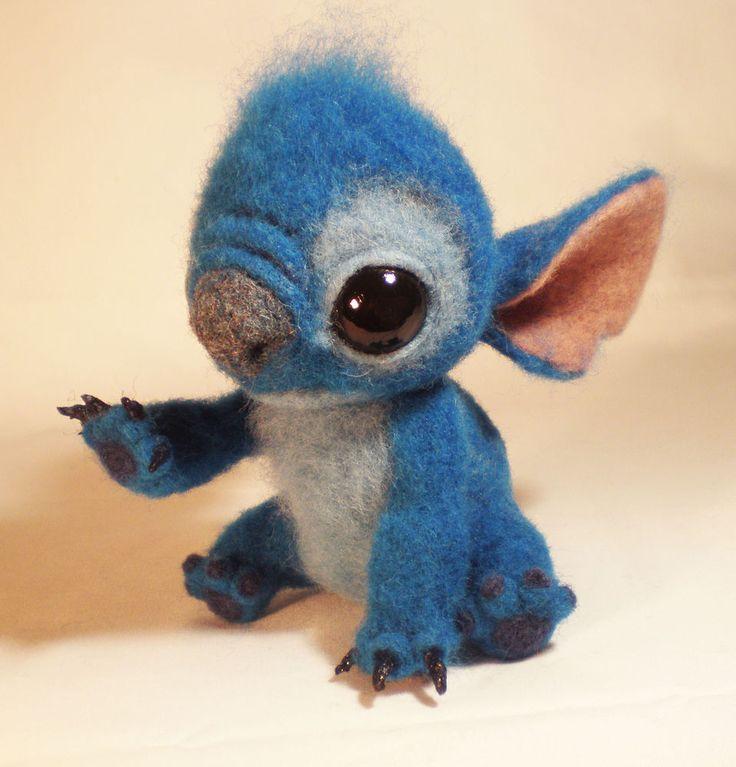 "Valya nice toy ""Stitch"" - Fair Masters - handmade, handmade Master Class"