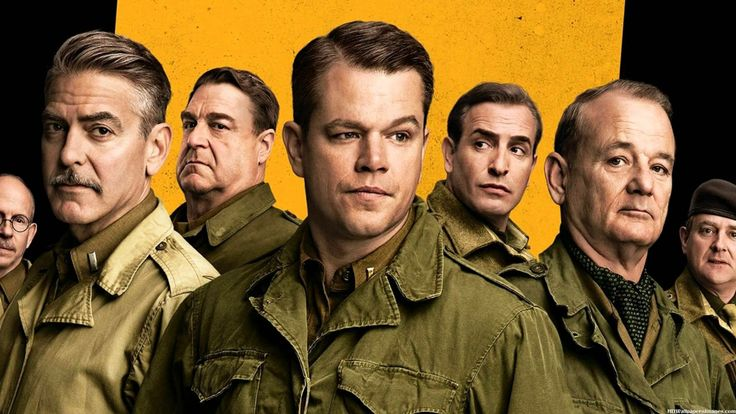 Watch The Monuments Men Full Movie Streaming Online Free (2014) 1080p HD ?