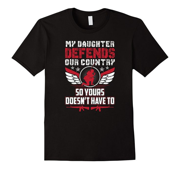 Proud Parent Mother Father Of A Military Service Member Tee