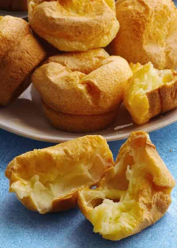 Instant Pot Pao de Quiejo to make the famous Brazilian cheese bread at home. No pre-cooking the dough in this simple recipe! Just tapioca flour, milk, oil, eggs, and cheese make up this delightful, gluten-free bread.