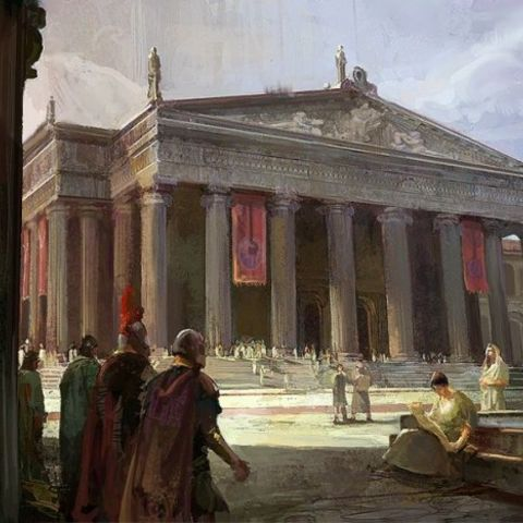 The Great Library of Alexandria was one of the two most important libraries of the ancient world. Description from civilization.wikia.com. I searched for this on bing.com/images
