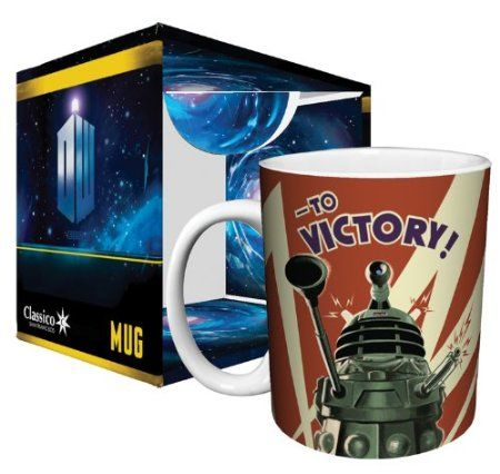 Amazon.com: Doctor Who Dalek to Victory TV Television Show Ceramic Boxed Gift Coffee (Tea, Cocoa) 11 Oz. Mug: Kitchen & Dining