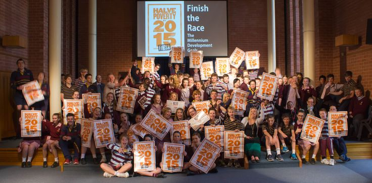 St John's Grammar showed their support for Finish the Race by signing the MTEP petition and talking about Micah Challenge, as well as coming together in their house groups to take these great photos!