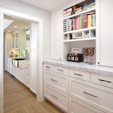 19 best ideas about walk in pantry butlers pantry on for Kitchen designs with butler pantry