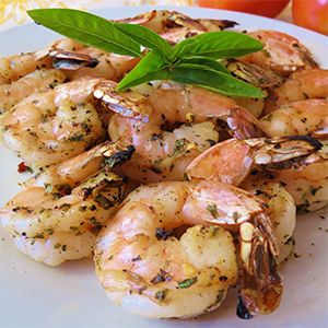 Grilled Shrimp With Rosemary And Chives | Recipe | Grilled shrimp ...