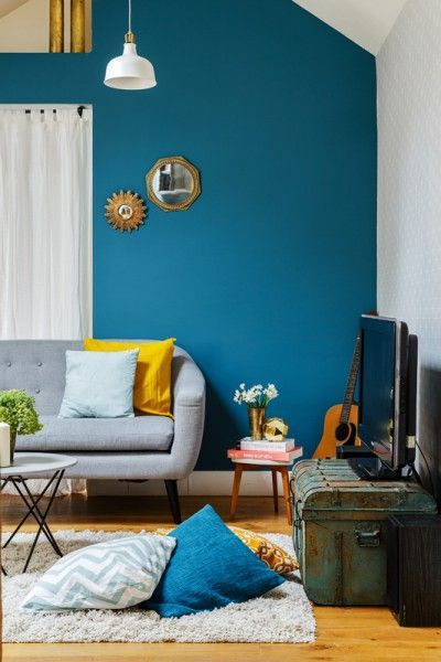 Best 25 Blue Wall Paints Ideas On Pinterest Blue Paint