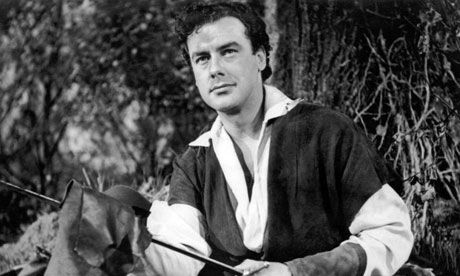 Richard Greene as Robin Hood in The Adventures of Robin Hood