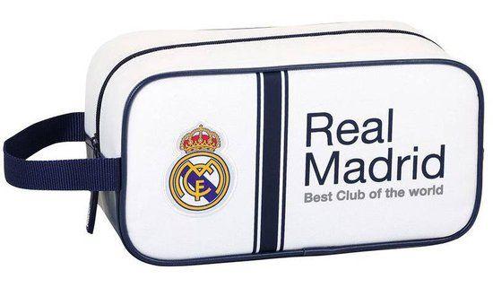 Real Madrid Best Club - Schoenentas/Toilettas - 29 cm - Wit