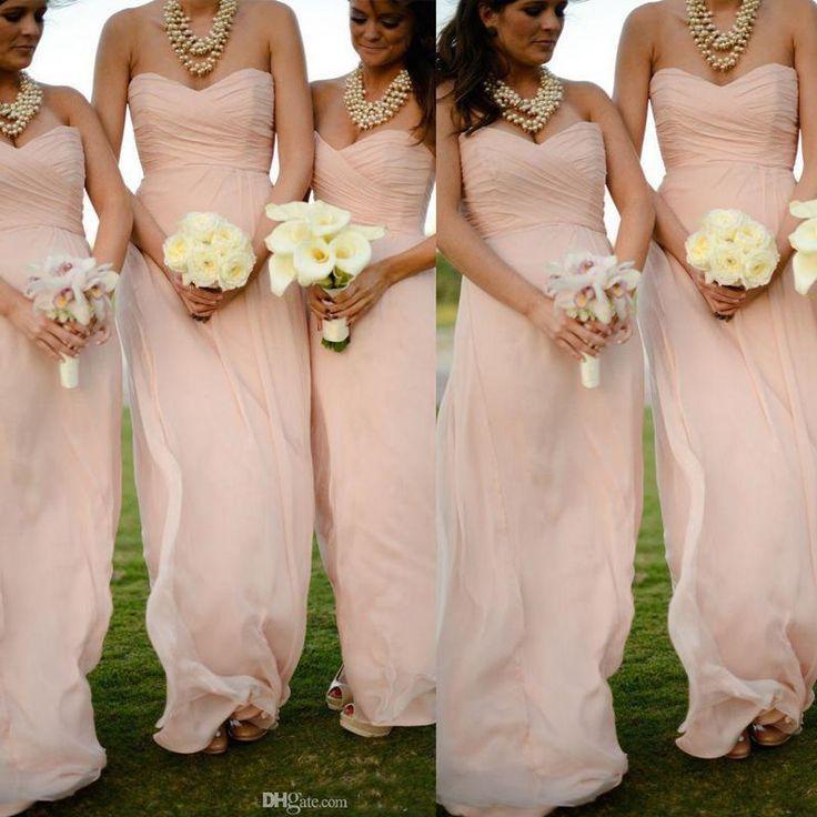 1000 ideas about chiffon bridesmaid dresses on pinterest