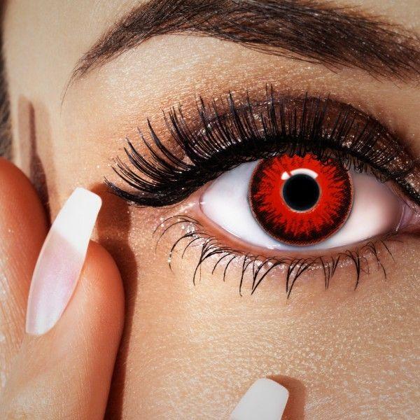 Rote Farblinsen, Manga Kontaktlinsen, Sharingan Linsen