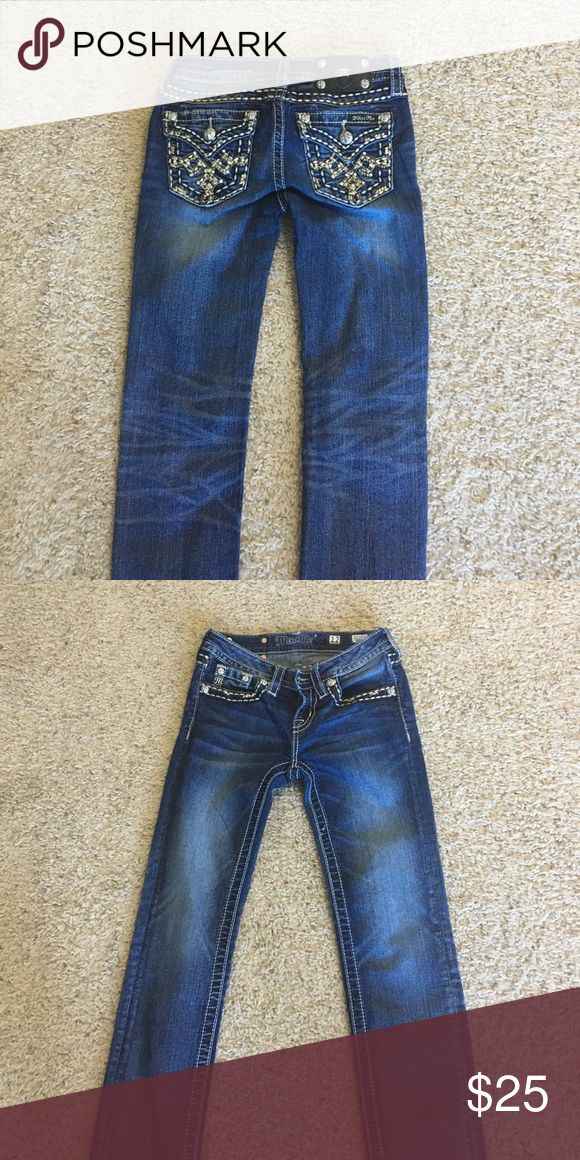 Girls Miss Me jeans Girls Miss Me skinny jeans size 12. Great condition Miss Me Jeans Skinny