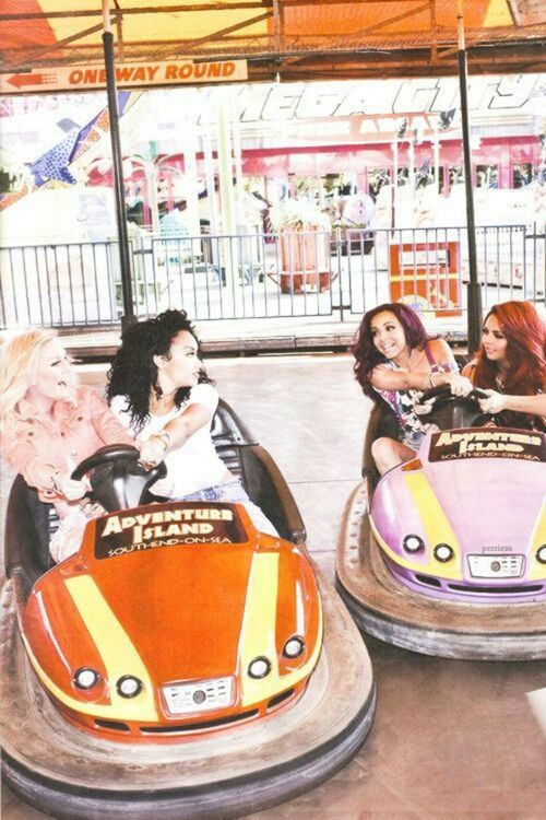 Everyone Loves A Game Of Bumper Cars  Little Mix -5087