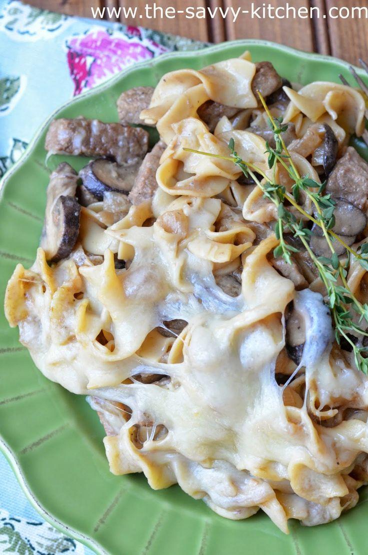The Savvy Kitchen: French Onion Beef Stroganoff