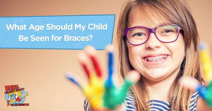 Time to make that already perfect smile even brighter with braces.