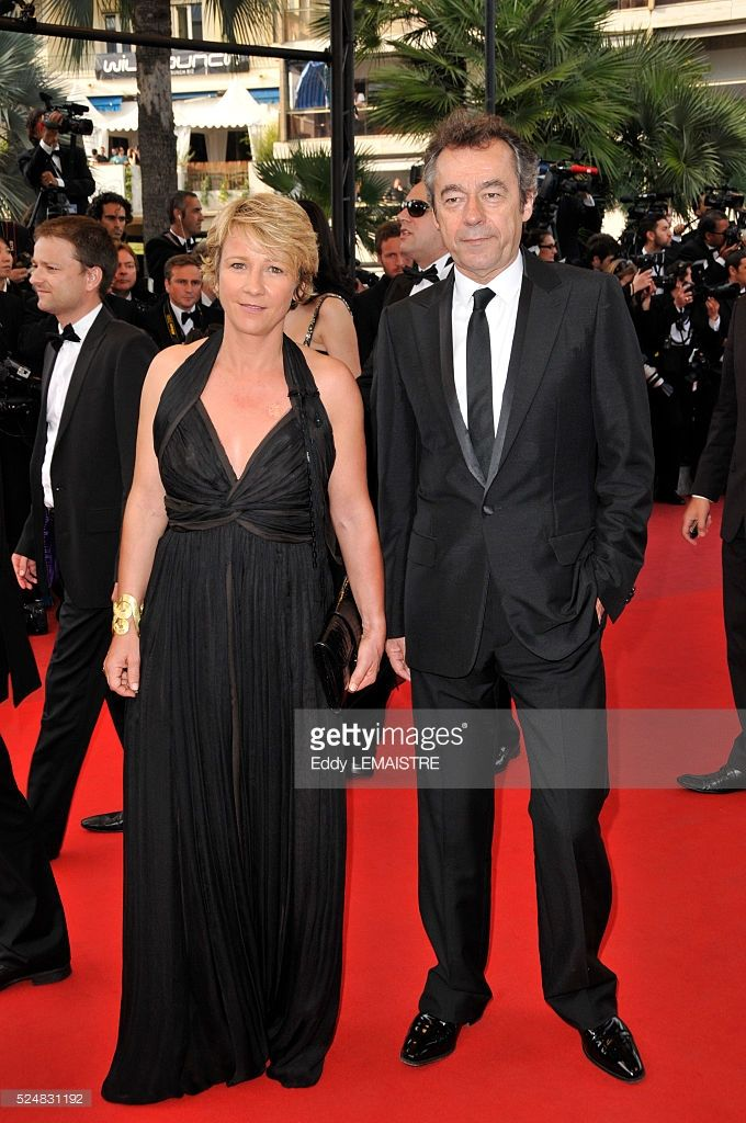 Photo d'actualité : Michel Denisot and Ariane Massenet attend the...