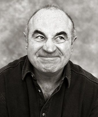 "Robert William ""Bob"" Hoskins, Jr. (1942-2014) was an English actor. Photo by Andy Gotts."
