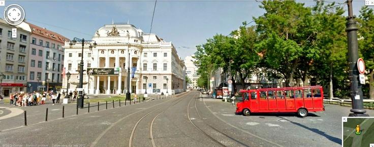 Google Street View - Hviezdoslavovo namestie, Bratislava