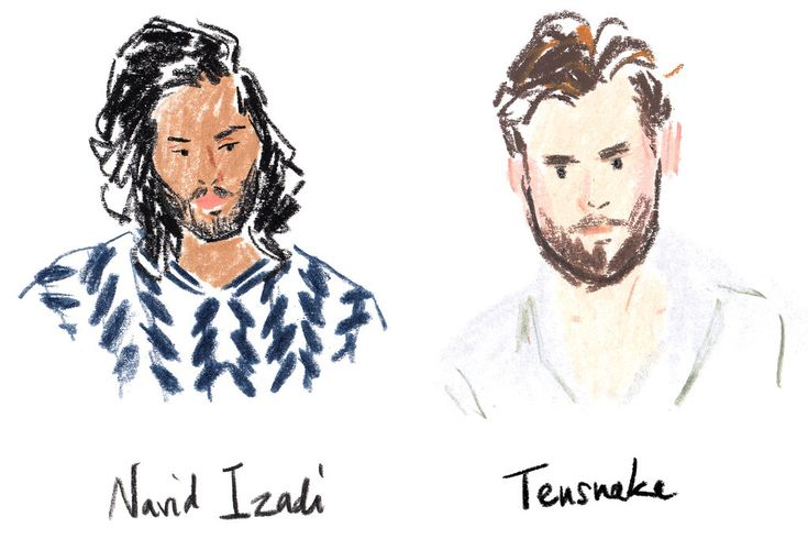 The French artist and T contributor Damien Florébert Cuypers sketched the entire…