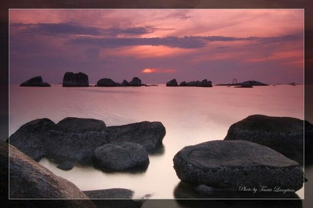 Rocks in Belitung Island, Indonesia