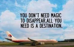 #travelquote You don't need magic to disappear. All you need is a