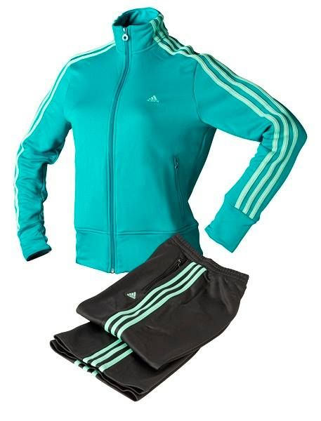 Chándal Adidas Young Stripes para mujer. #casual #moda #ropa #urban #deporte…