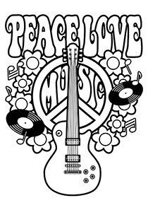 simple and attractive free printable peace sign coloring pages coloring  coloring books and peace Peace Flower Coloring Pages  Coloring Pages Of Peace Signs And Love