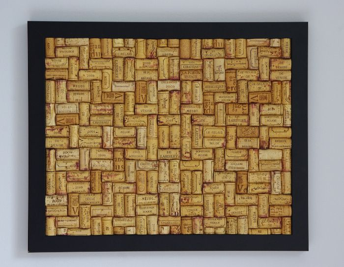 black satin wine cork notice board available here www