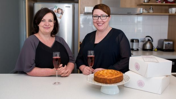 Good Bitches Baking was founded in 2014 by Nic Murray, left, and Marie Fitzpatrick.