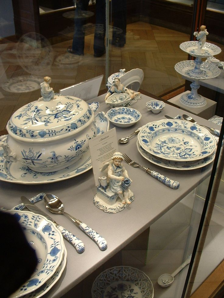 510 Best Blue Onion Mostly Meissen Images On Pinterest
