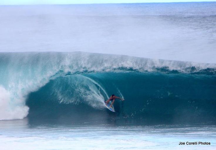 Big waves.  North Shore, Oahu.  January 2012.
