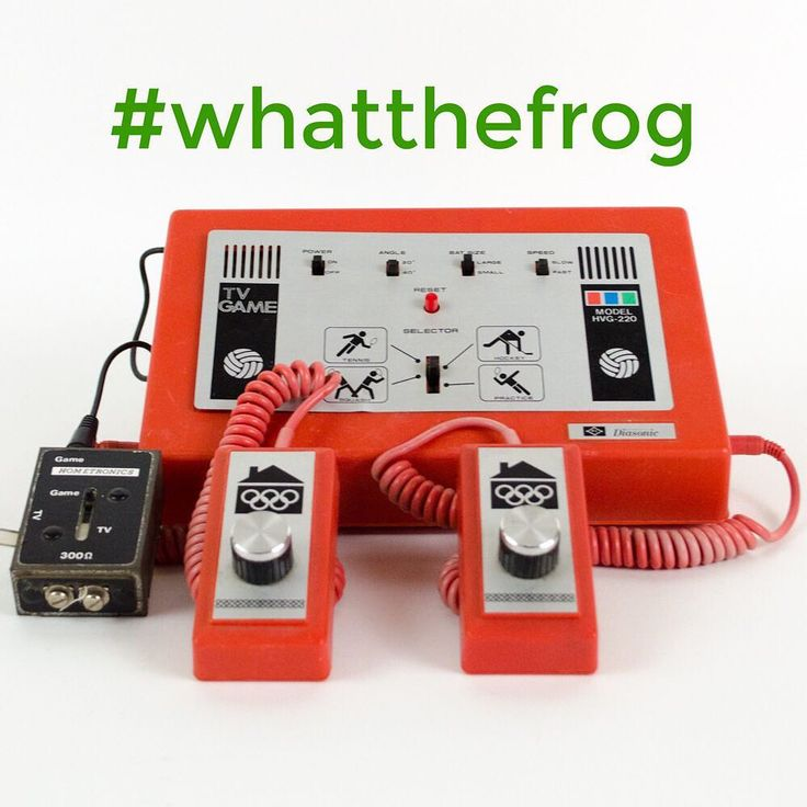 Do you know what this is?! Let us know in the comments below if you do! Another #whatthefrog Wednesday! #getfrogged #lillifrog #vintagefind #retrogames #retro #vintage #collector