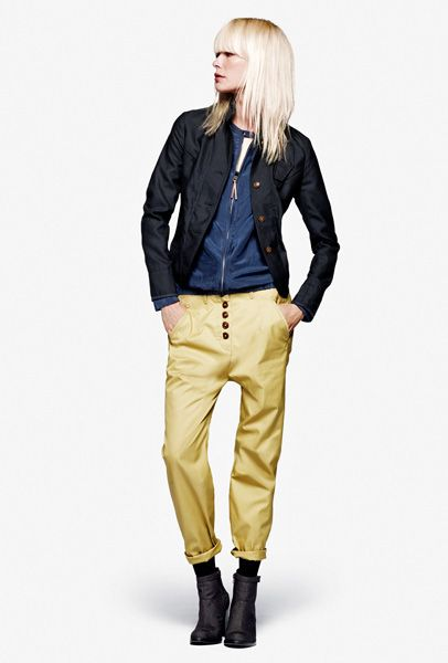 G-Star RAW 2012 Spring Womens Collection: Designer Denim Jeans Fashion: Season Lookbooks, Runways, Ad Campaigns and Linesheets