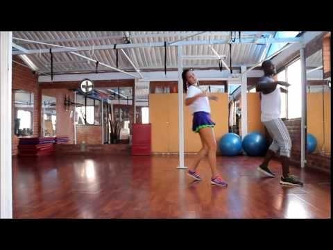 La Mordidita Coreografia Zumba Completa by Andres Lerma y Laura Trujillo - YouTube
