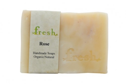 Organic handmade soap by F-R-E-S-H. What I LOVE about it: the scent! Lemongrass is my favourite, but there isn't a photo up for that one yet; the texture; the natural organic ingredients!  www.F-R-E-S-H.ca