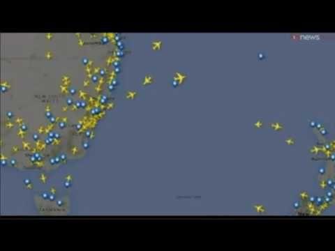 Странный НЛО над Новой Зеландией