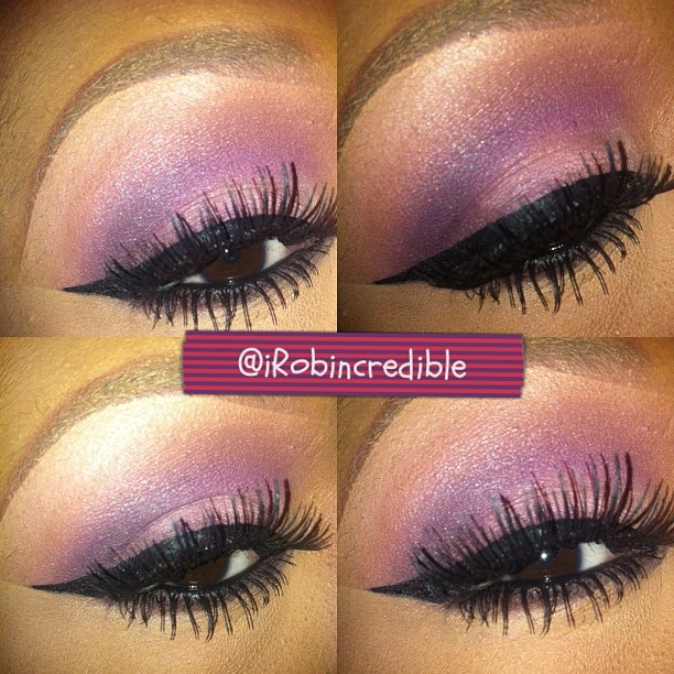 .@irobincredible | Purp. #MAC Seedy Pearl, Creme de Violet, and Sketch. #makeup #mua #eyeshadow... | Webstagram - the best Instagram viewer