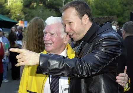 Carwood Lipton and Donnie Wahlberg