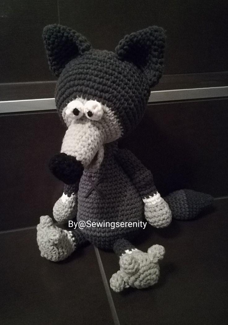 I ❤️ crochet The bad wolf