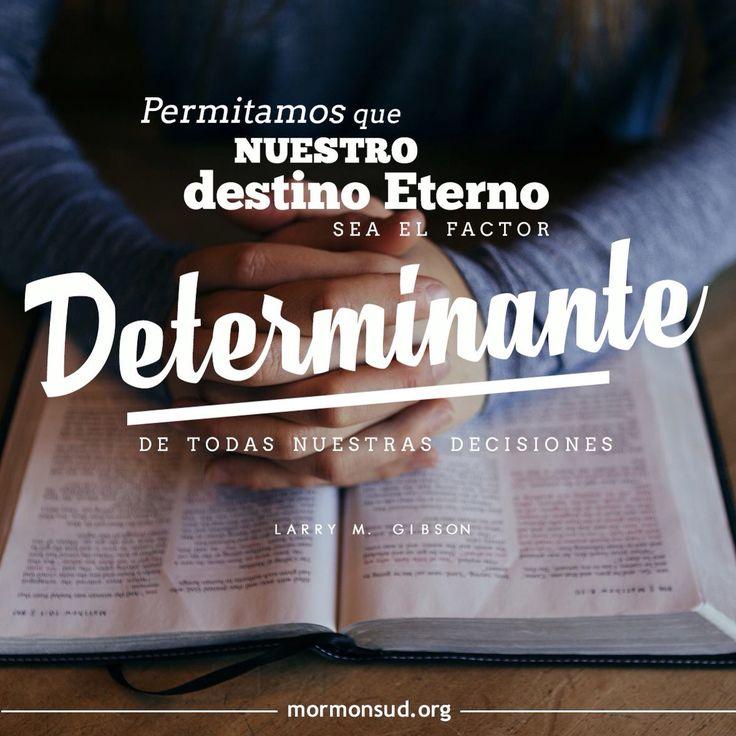 Para cada cosa siempre debemos tener una perspectiva eterna. #ElCristo #Fe #mormones Visita mormonsud.org