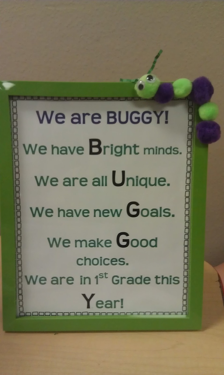 The Hands-On Teacher: More Classroom Signs and Class Improvements!