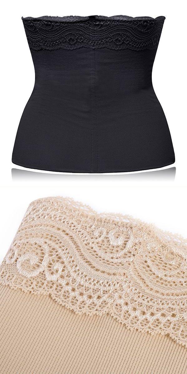 6856c95c61 Cozy lace postpartum soft belly corset adjustable breathable body shaper  girdle shapewear briefs  big  w  shapewear  underwear  kmart  shapewear   shapewear ...