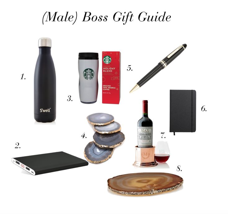 gift ideas for your boss male