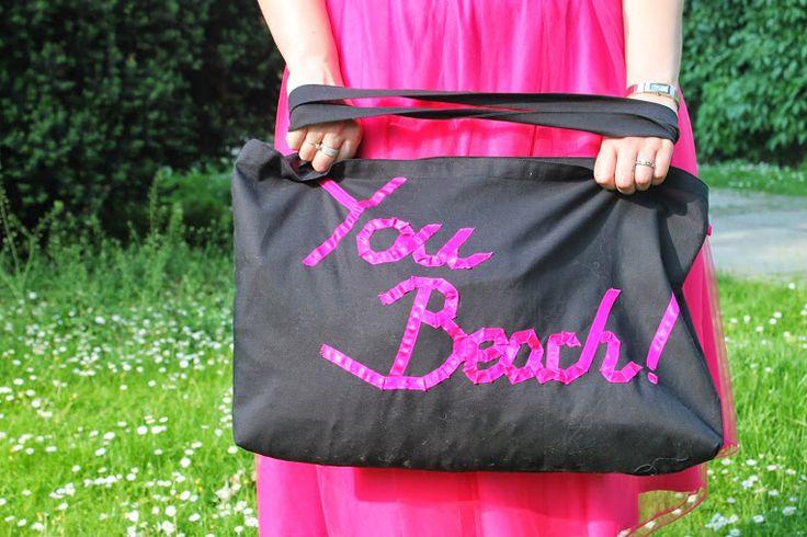 """""""You Beach"""" beach bag"""