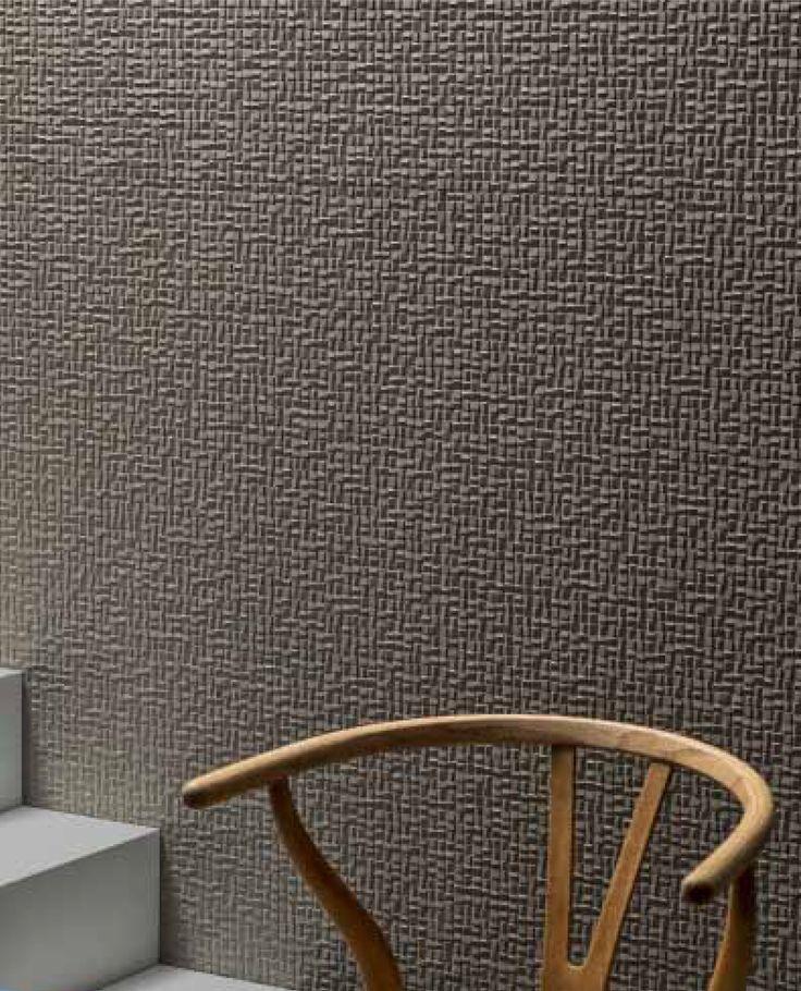 PHENOMENON - Design Tokujin Yoshioka – Mutina:  Série de carrelage tout en matières et en relief, inspirée par les éléments de la nature qui porte des noms évocateurs comme: Honeycomb, Rain, Air, Snow, Wind …