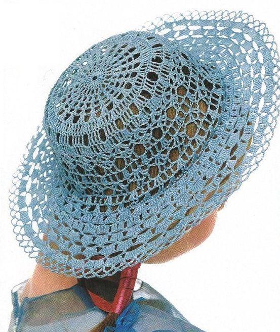 10 padrões maravilhosos Crochet chapéus - DIYManualidades e artesanato e DIY