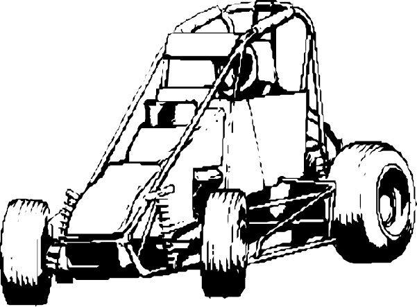 Nascar Race Car Coloring Page