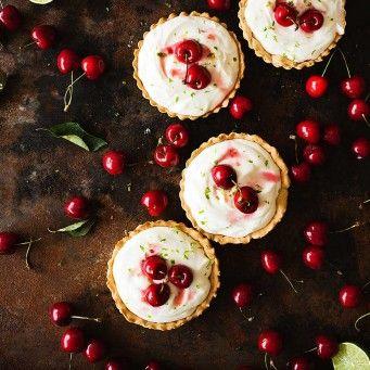 Tartaletas dulces de cerezas-Los Tragaldabas