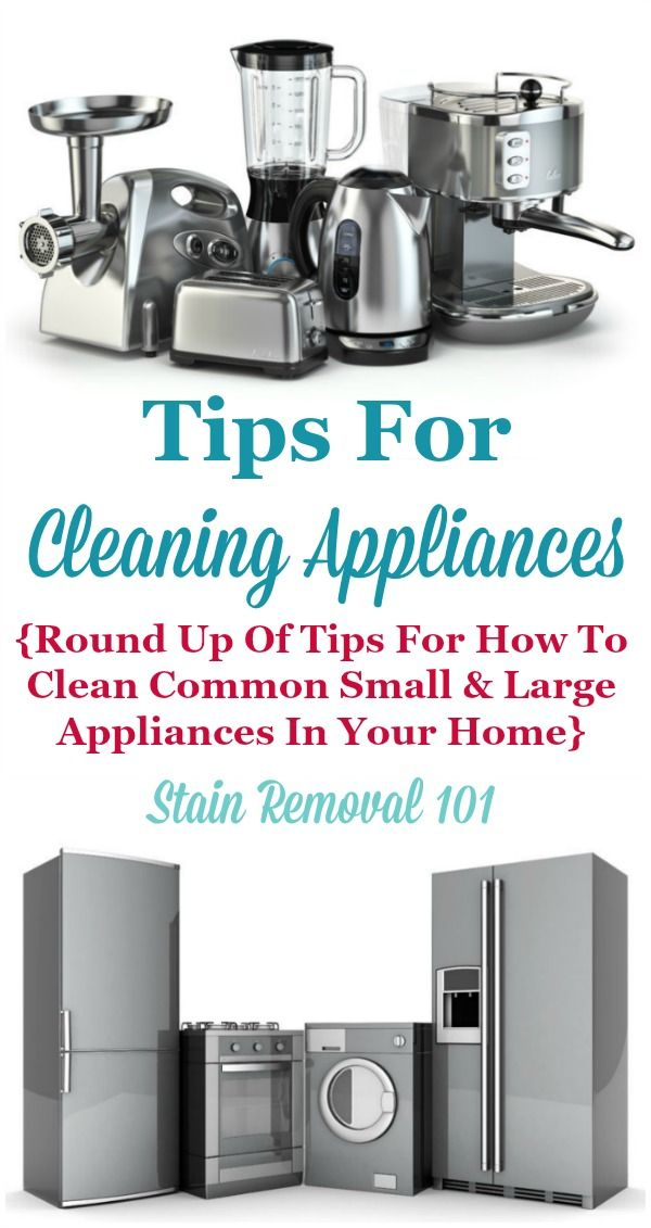 round up of tips for cleaning appliances including both small and large appliances that are best 25  cleaning appliances ideas on pinterest   diy cleaning      rh   pinterest com